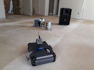 Isolement acoustique - Mesure bruit de chocs