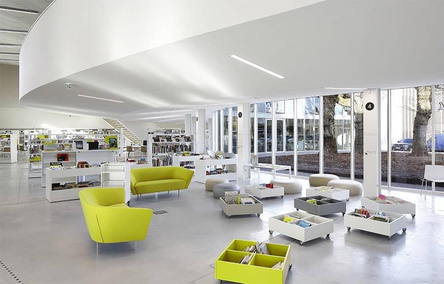 Acoustique du bâtiment - Bibliothèque