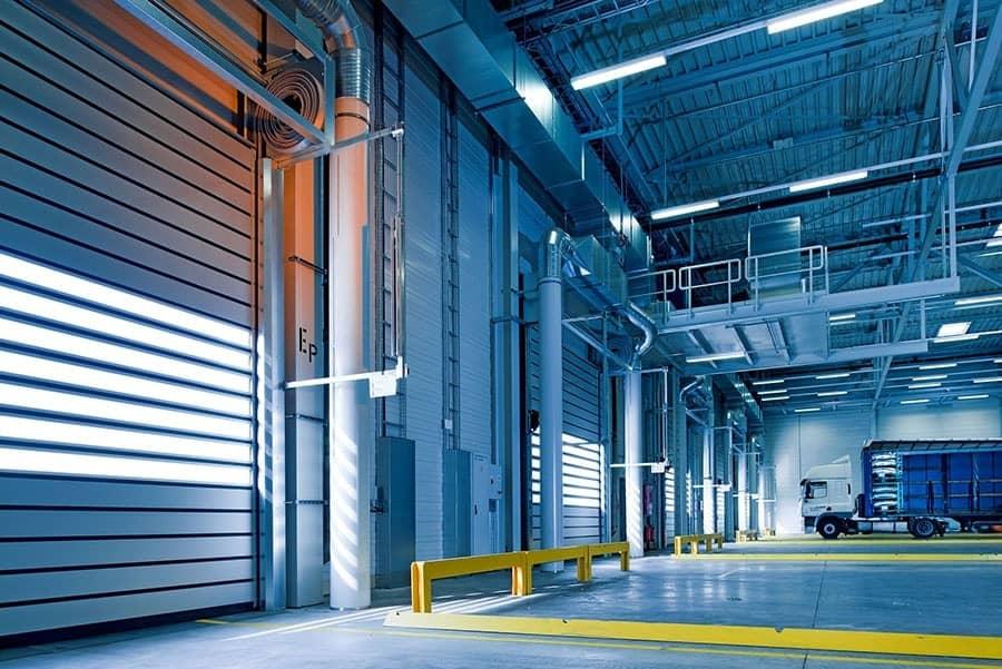 Acoustique industrielle - Entrepôt