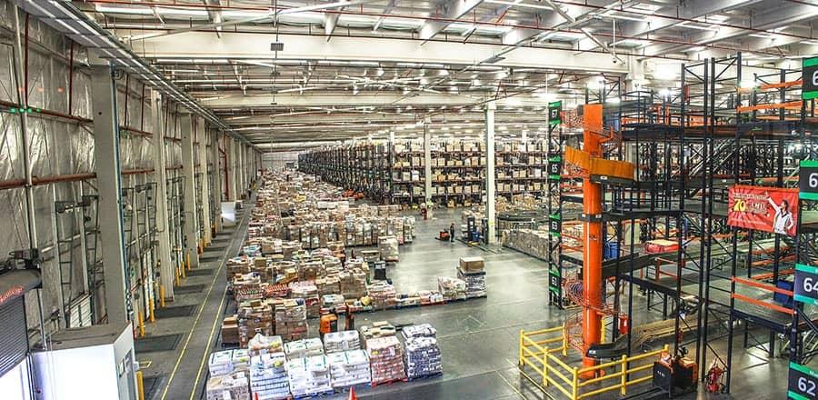 Acoustique industrielle - Entrepôt de stockage