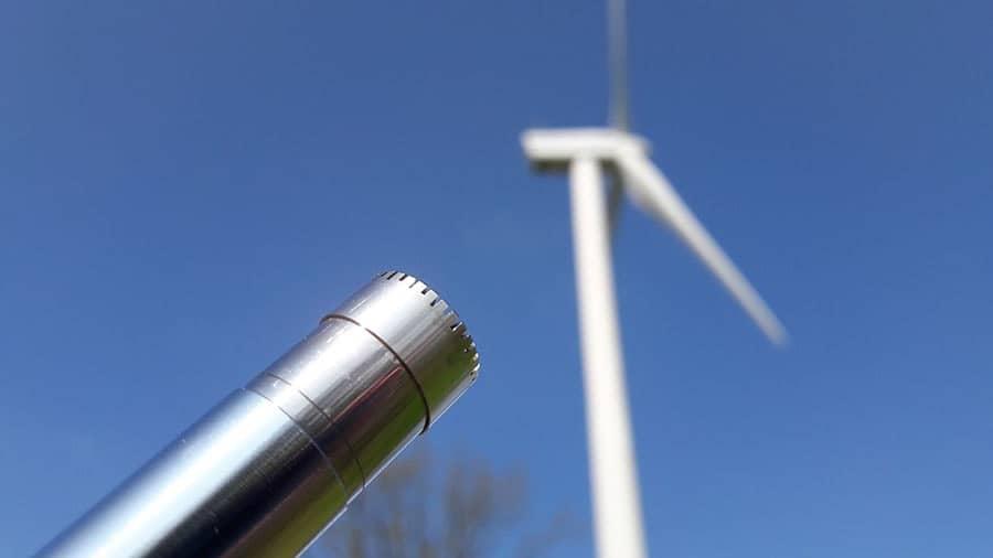 Acoustique environnementale - Éolienne