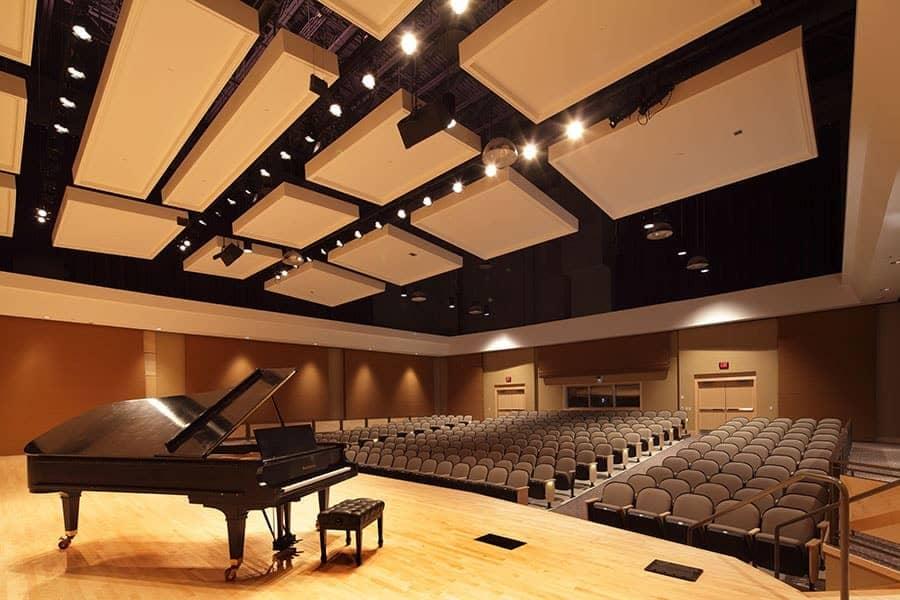 Acoustique des lieux musicaux - Auditorium