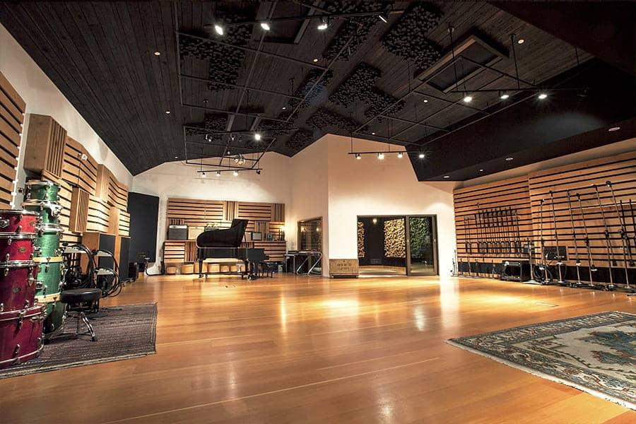 Acoustique des lieux musicaux - Studio d'enregistrement