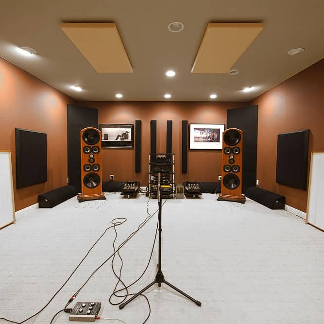 Acoustique des lieux musicaux - Salle d'écoute